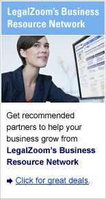 LegalZoom's Business Resource Network