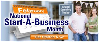 National Start-A-Business Month