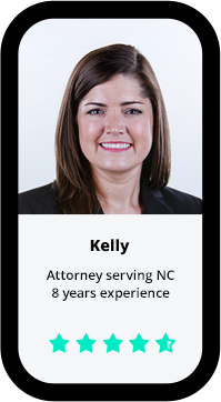 Kelly, attorney serving NC, 8 years experience