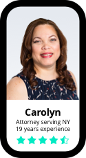Carolyn, Attorney serving NY, 19 years experience
