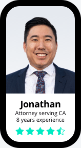 Jonathan Attorney serving CA 8 years experience