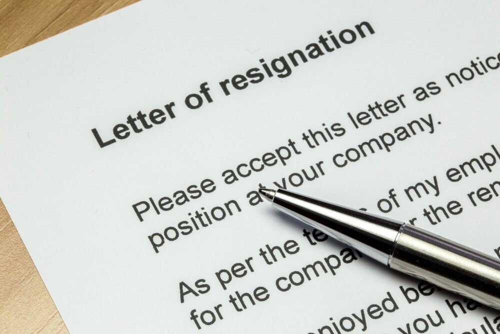 how to write a resignation letter legalzoom