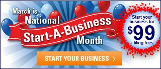 March is National Start-A-Business Month