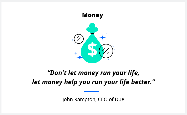 A quote on leadership from Due CEO John Rampton