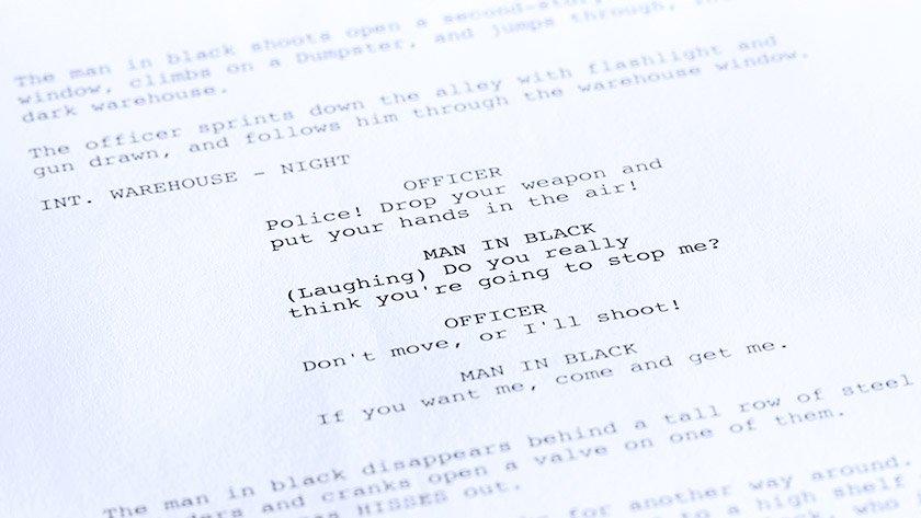 4 actor scripts