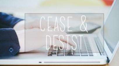 Trademark Cease And Desist Letter Packet - How to Guide