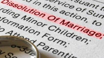 Filing a Simplified Dissolution of Marriage