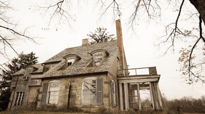 Buyer Beware: What They Don't Tell You about Buying  a Haunted House