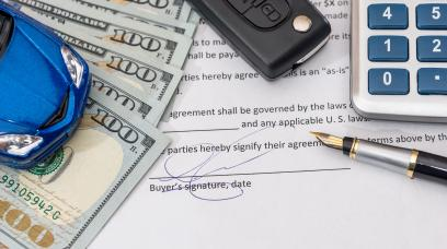 Bill Of Sale and Promissory Note for Cars & Guides