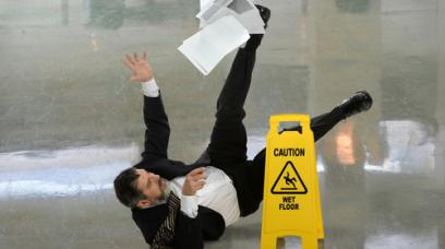 Small Claims Court: Slip and Fall Accidents