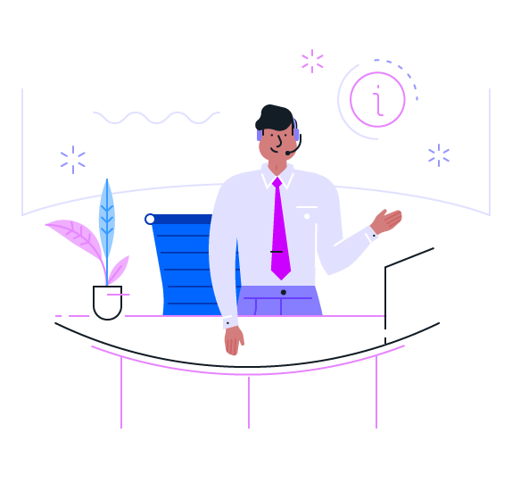LegalZoom Customer services illustration